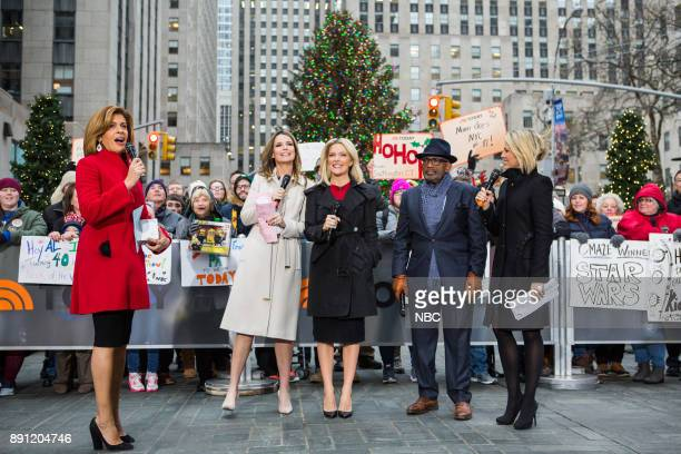 Hoda Kotb Savannah Guthrie Megyn Kelly Al Roker and Dylan Dreyer on Tuesday December 12 2017