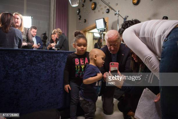 Hoda Kotb surprises cancer survivors with a visit from former Vice President Joe Biden They thanked Biden for his support through the Biden Cancer...