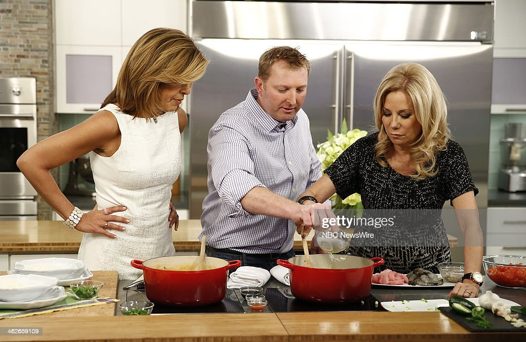Hoda Kotb, Tory McPhail and Kathie Lee Gifford appear on NBC News' 'Today' show --