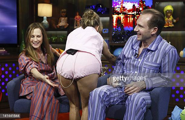 Holly Hunter Amy Sedaris Ralph Fiennes Photo by Peter Kramer/Bravo/NBCU Photo Bank