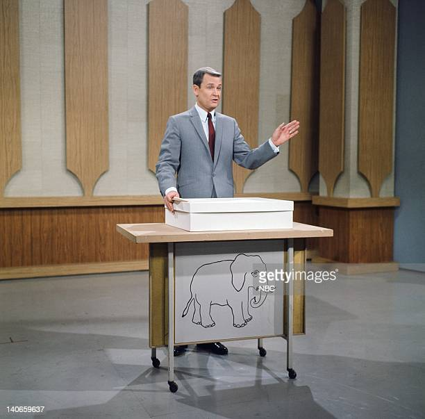Host Bob Barker on a game show pilot in the 1960s Photo by NBC/NBCU Photo Bank