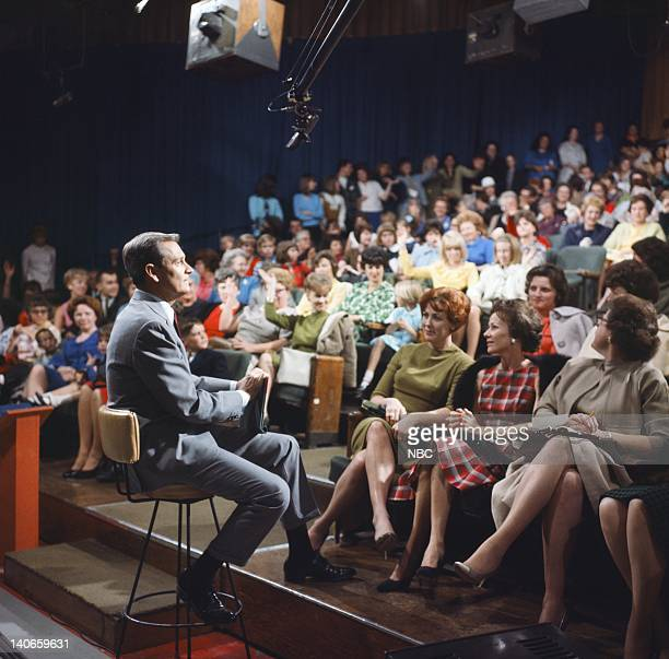 Host Bob Barker with audience on a game show pilot in the 1960s Photo by NBC/NBCU Photo Bank