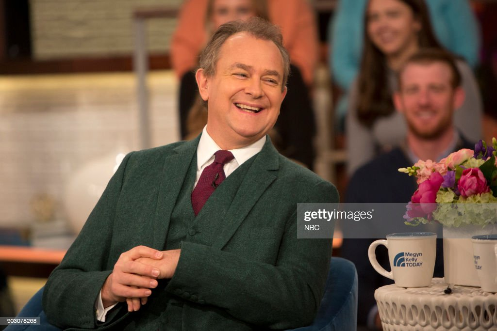 Hugh Bonneville on Monday Jan. 8, 2018 --