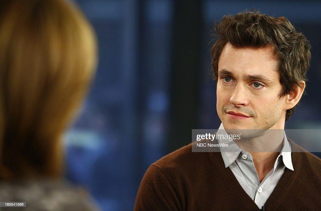 Hugh Dancy appears on NBC News' 'Today' show --