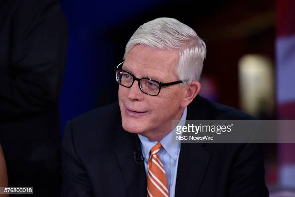 Hugh Hewitt Host The Hugh Hewitt Show appears on 'Meet the Press' in Cleveland OH Sunday July 17 2016