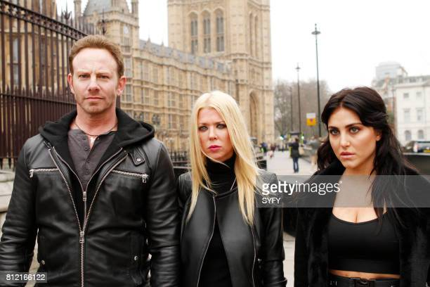 Ian Ziering as Fin Shepard Tara Reid as April Shepard Cassie Scerbo as Nova Clarke
