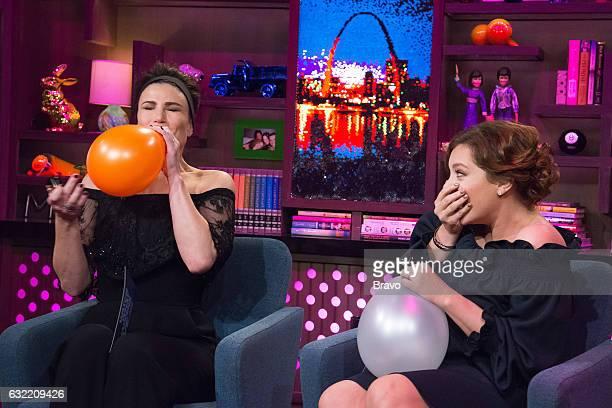 Idina Menzel and Rachel Bloom