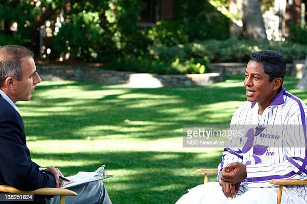 """In a special edition of NBC News' """"Today,"""" from Neverland Ranch, Matt Lauer talks exclusively to Jermaine Jackson in his first interview since his..."""