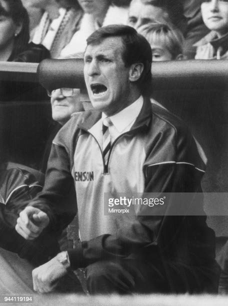 Pictured in dugout 30th September 1986