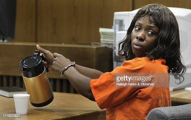 Pictured in this file photo from August 2010 Crystal Mangum who was at the center of the Duke University lacrosse scandal was charged with stabbing a...