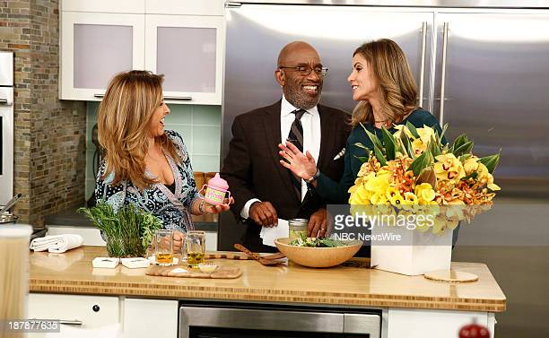 Ingrid Hoffman Al Roker and Natalie Morales appear on NBC News' Today show