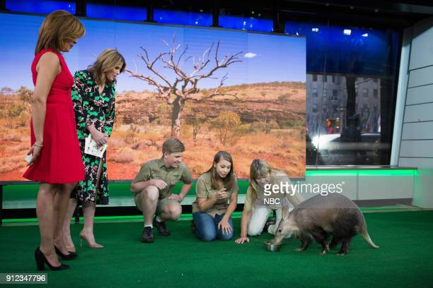 Irwin Family on Today Show on Friday Jan 26 2018
