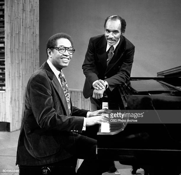 Pictured is Billy Taylor jazz pianist performing on Black Arts a weekly program on WCBSTV Episode A Black Experience in Music The program is hosted...