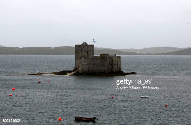 Pictured is Kisimul Castle on the Isle of Barra, Outer Hebrides. The most southerly of the inhabited islands in the Outer Hebrides, Barra was the...