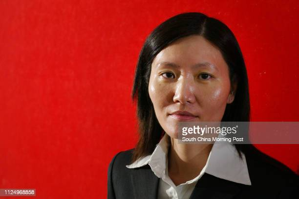 Pictured is prison warden Candy Leung in her work uniform This is for a feature story about the plight of prison wardens They are under a lot of work...