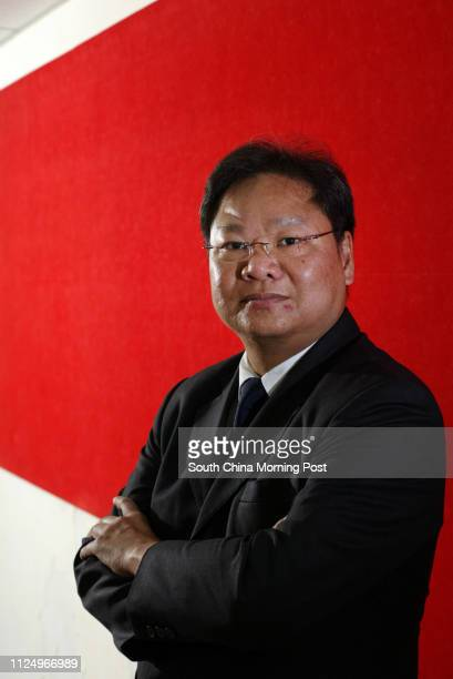 Pictured is prison warden Johnny Man Chikeung in his work uniform This is for a feature story about the plight of prison wardens They are under a lot...