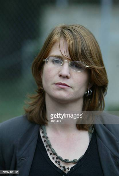 Pictured is Sarah Moore leaving the Ringwood Court She was a victim of The Family led by Anne HamiltonByrne 3 July 2005 THE AGE NEWS Picture by PAUL...