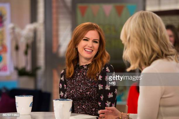 Isla Fisher and Megyn Kelly on Thursday October 12 2017