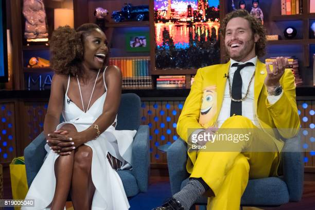 Issa Rae and T J Miller