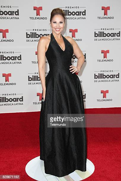 Ivette Machin arrives at the 2016 Billboard Latin Music Awards at the BankUnited Center in Miami Florida on April 28 2016