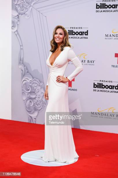 Ivette Machin on the red carpet at the Mandalay Bay Resort and Casino in Las Vegas NV on April 25 2019