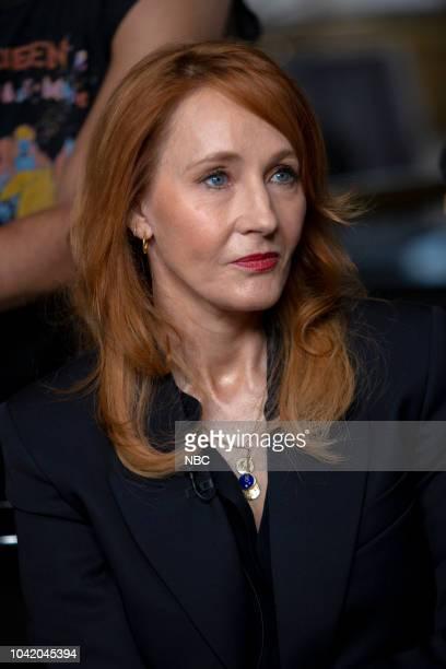 J K Rowling on Monday September 24 2018