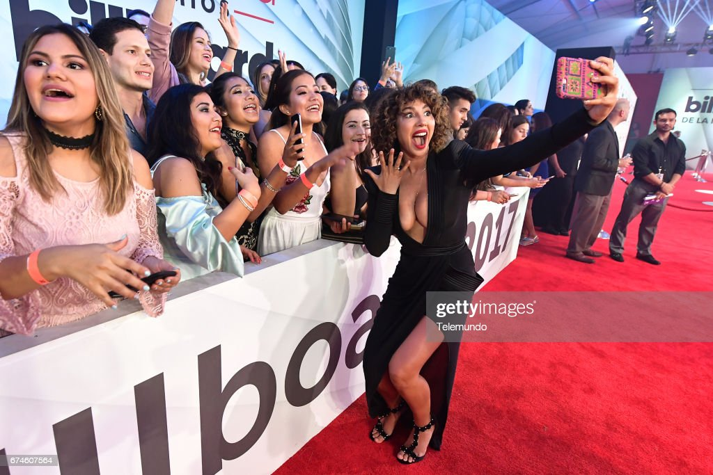 Jackie Cruz on the Red Carpet at the Watsco Center in the University of Miami, Coral Gables, Florida on April 27, 2017 --