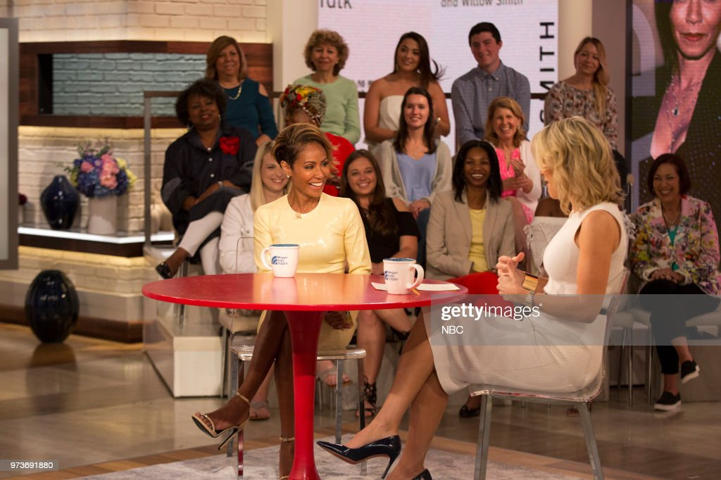 Jada Pinkett Smith and Megyn Kelly on Wednesday June 13, 2018 --