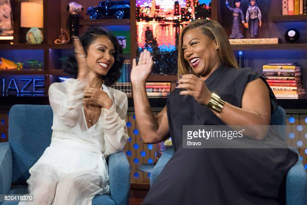 Jada Pinkett Smith and Queen Latifah