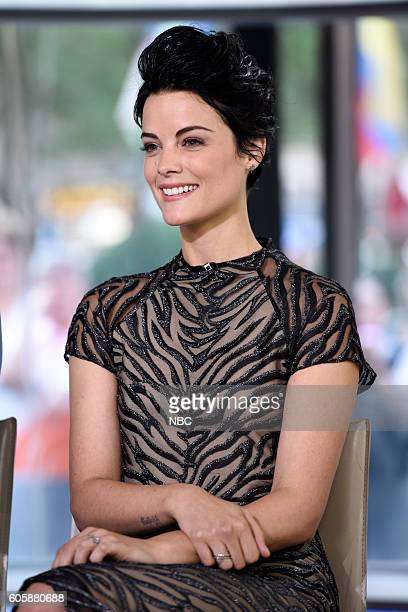 Jaimie Alexander appears on NBC's 'TODAY' show on Wednesday September 14 2016