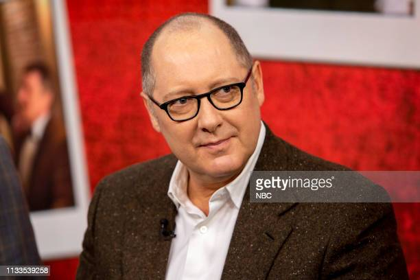 James Spader on Friday March 29 2019