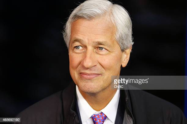 Jamie Dimon chairman president and CEO of JPMorgan Chase in an interview at the World Economic Forum in Davos Switzerland on January 21 2015