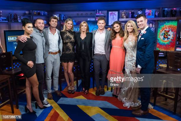 Jamie Jason Adam Glick Conrad Empson Hannah Ferrier Andy Cohen Sandy Yawn Joao Franco Brooke Laughton Kasey Cohen and Colin MacyO'Toole