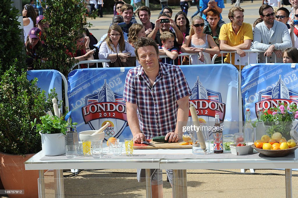 Jamie Oliver on August 2, 2012 -- Photo by: