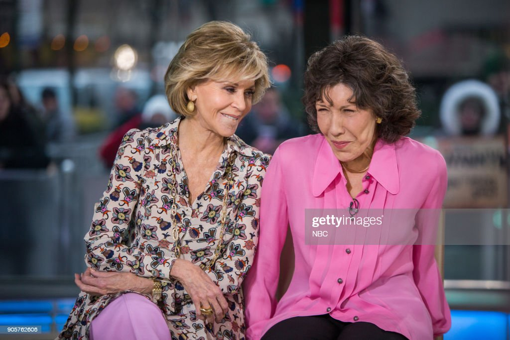 "NBC's ""Today"" with guests Jane Fonda, Lily Tomlin, Matt Damon, The Shadowboxers, Jeff Rossen"