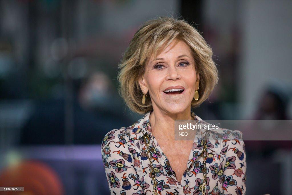 Jane Fonda on Tuesday, January 16, 2018 --