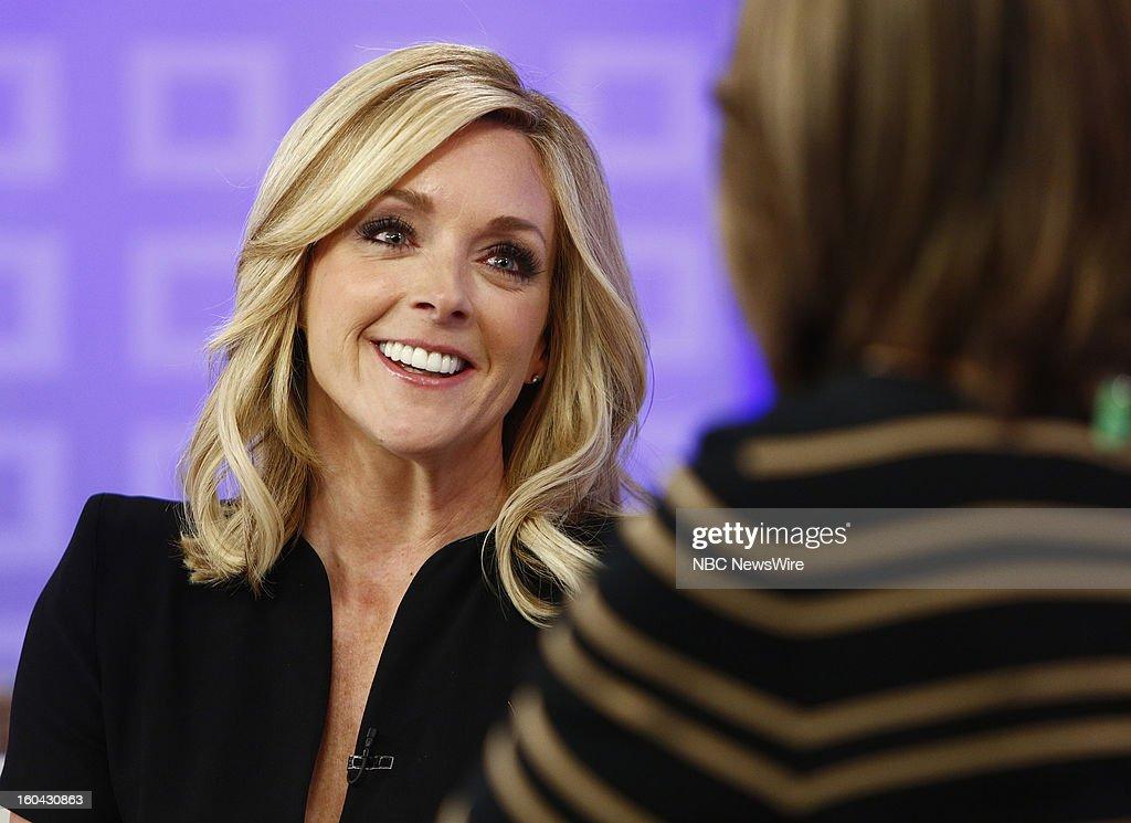 Jane Krakowski appears on NBC News' 'Today' show --