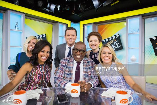 Jane Krakowski Sheinelle Jones Willie Geist Al Roker Ellie Kemper and Dylan Dreyer on Friday September 22 2017