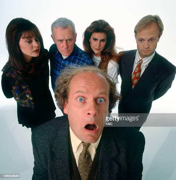 Jane Leeves as Daphne Moon John Mahoney as Martin Crane Peri Gilpin as Roz Doyle David Hyde Pierce as Dr Niles Crane Kelsey Grammer as Dr Frasier...