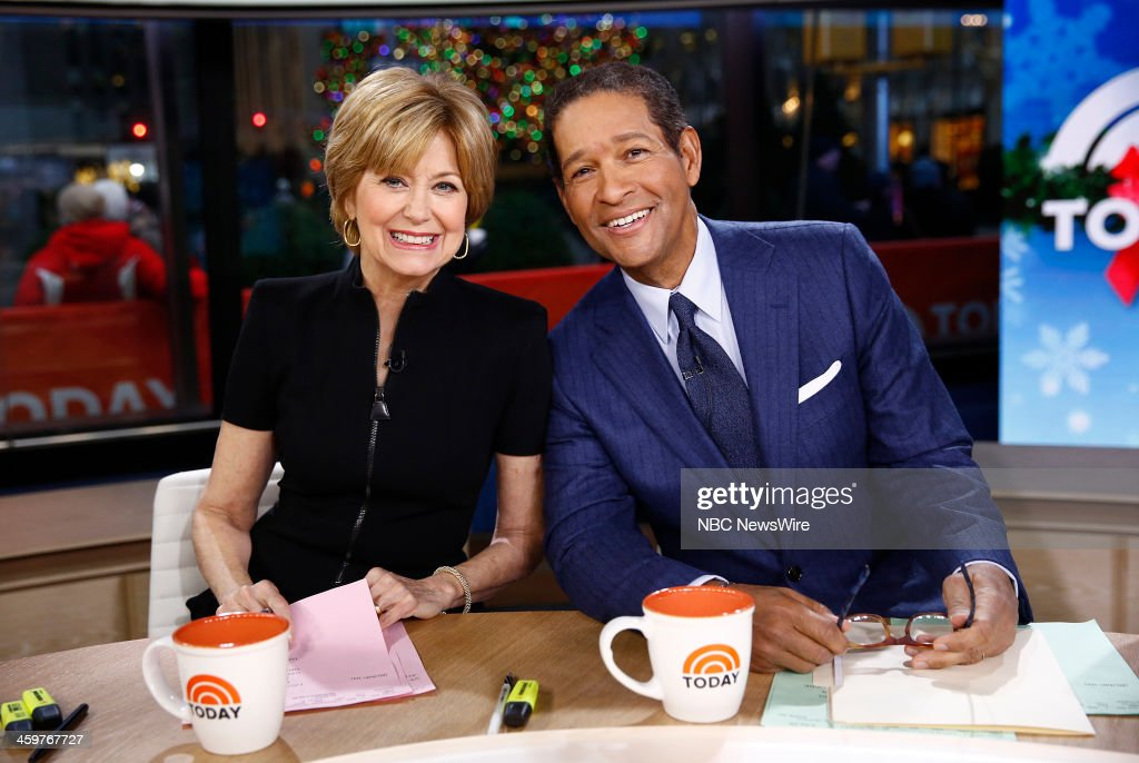 "NBC's ""Today"" With Guests Jane Pauley, Bryant Gumbel, Charlie Palmer, Brooke Shields"