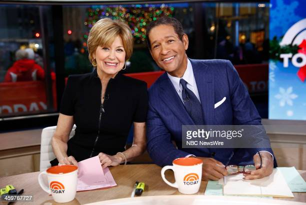 Jane Pauley and Bryant Gumbel appear on NBC News' Today show