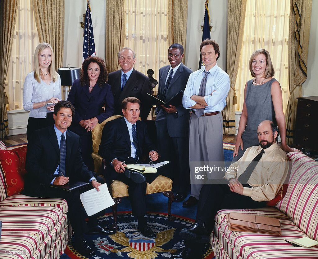 The West Wing : News Photo