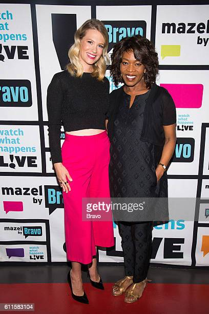 January Jones and Alfre Woodard