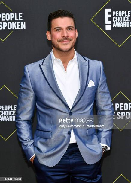 Jax Taylor arrives to the 2019 E People's Choice Awards held at the Barker Hangar on November 10 2019 NUP_188989