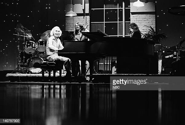 Jazz musician Dave Brubeck and Two Generations of Brubeck band on July 21 1978 Photo by Paul Drinkwater/NBC/NBCU Photo Bank