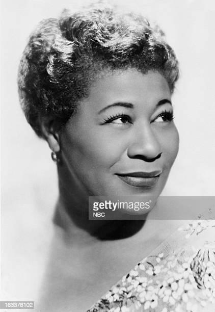 Jazz singer Ella Fitzgerald c 1959