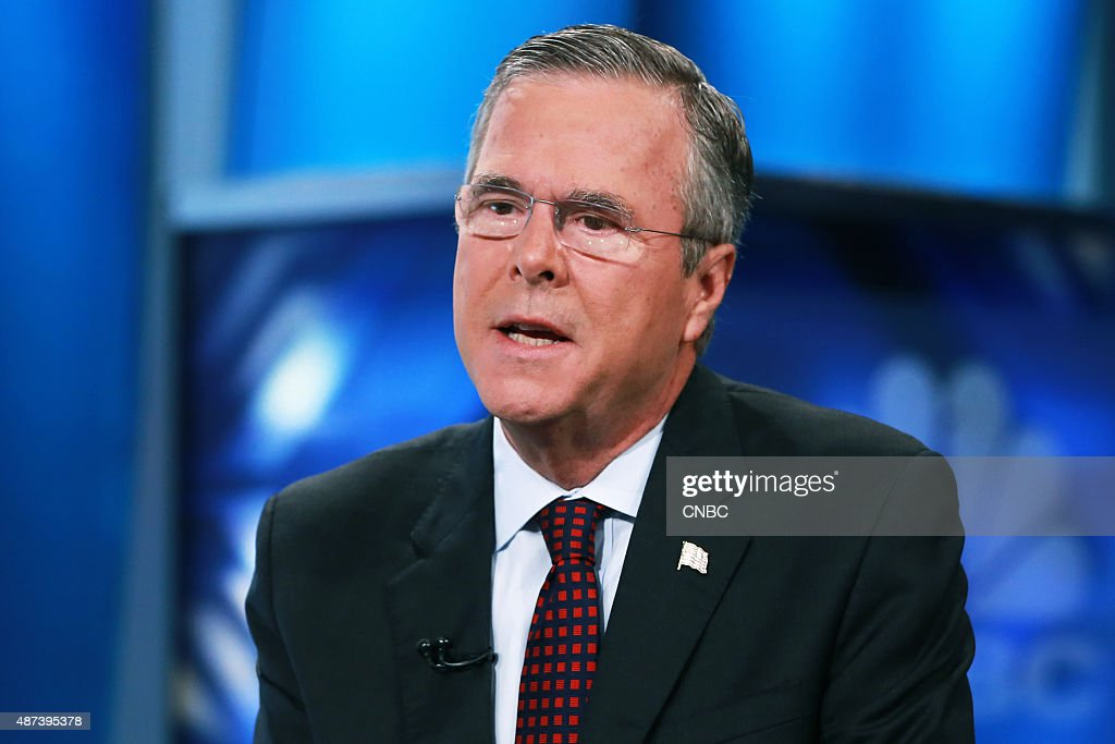 Jeb Bush, former Governor of Florida and 2016 presidential election candidate, in an interview on September 9, 2015 --