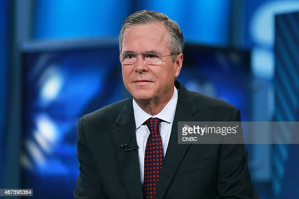 Jeb Bush former Governor of Florida and 2016 presidential election candidate in an interview on September 9 2015