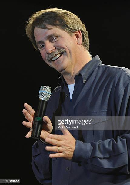 Pictured Jeff Foxworthy perform at Singer/Songwriter Michael W Smith and Comedian/Author Jeff Foxworthy present The 2011 Redneck Rally for Rocketown...