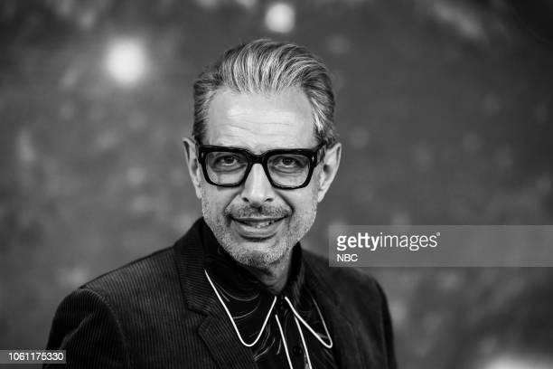 Jeff Goldblum on Monday November 12 2018